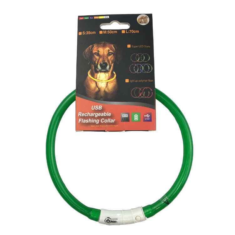 America Nye Fully Dog Neck Ring Night Light Charging Neck Ring Flash Dog Neck Ring Dog Shining Bandana Super Bright