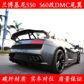 for Lamborghini Gallardo LP550 LP560 Carbon Fiber rear boot Wing Spoiler Rear Roof Spoiler Wing Trunk Lip Boot Cover Car Styling