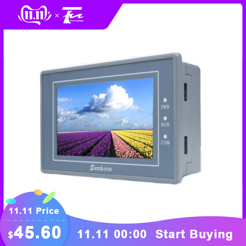 EA-043A Samkoon HMI Touch Screen 4.3 inch 480*272 New In Box