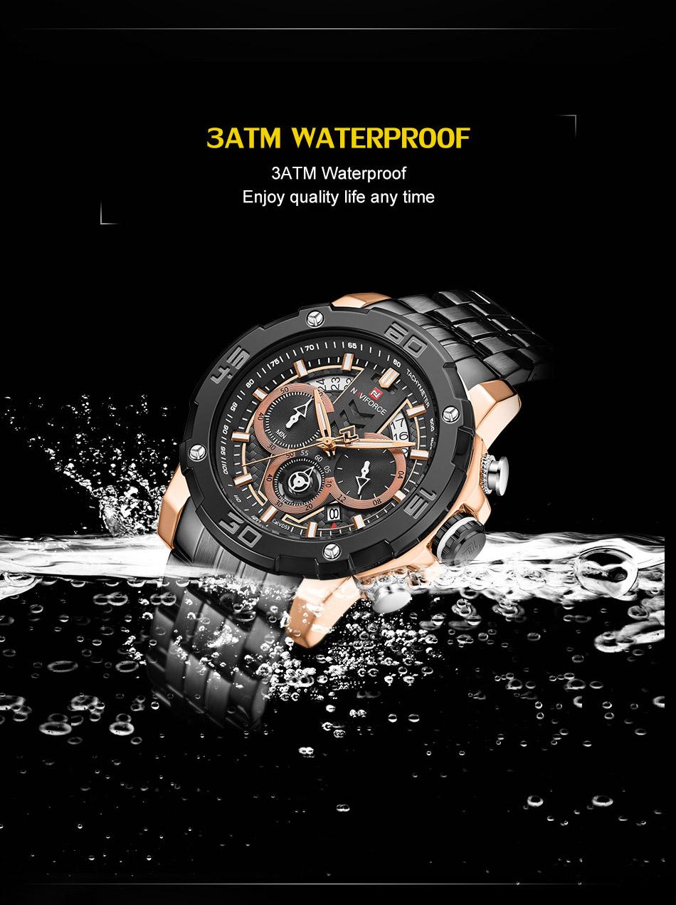 NAVIFORCE NF9175 Stainless Steel Watch 7
