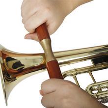 Hand-held Wooden Handle Pressure Roller Pipe Metal Repair Tools Saxophone Trumpet Trombone Sheet Metal