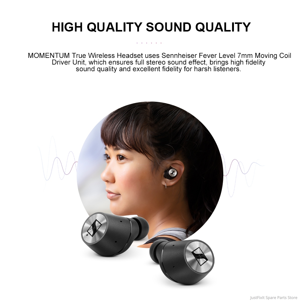 Sennheiser MOMENTUM True Wireless Earbuds 7