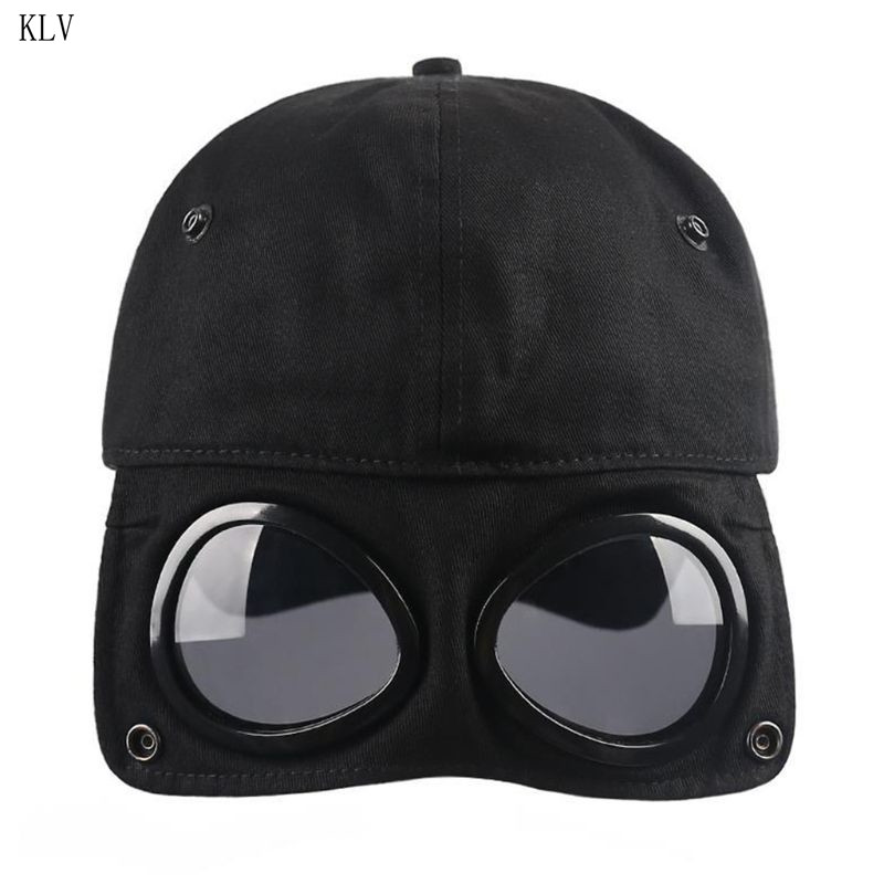 Fashion Wild Students Pilot Glasses Duck Hat Men Women Street Trend Baseball Cap