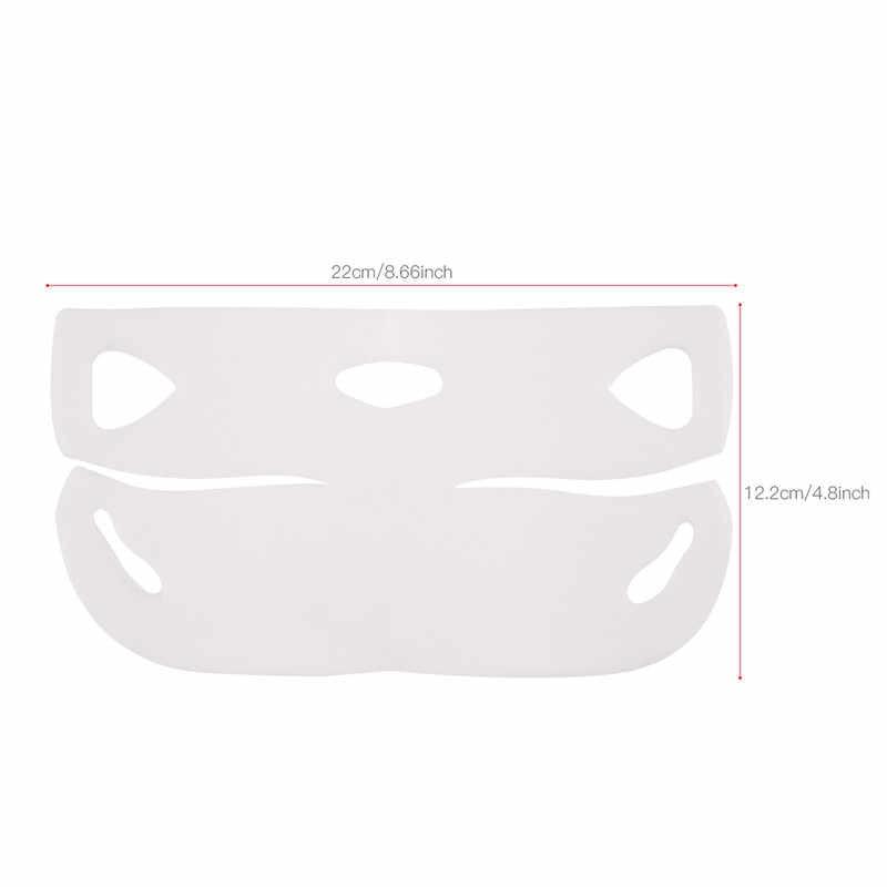 1 PC/5 PC/10 Pcs 4D Double V Berbentuk Masker Wajah Mengangkat Pelangsing Tipis Topeng Wajah Ramping gel Masker Wajah Alat Angkat Menggantung Telinga Kulit Care45