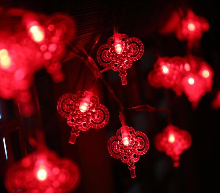 Led Lamp String 1.5m 10LED Lantern Festival Day Courtyard Decorative Lamp Outdoor Light