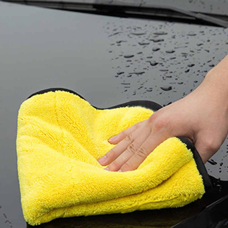 Extra Morbido 30*60CM Car Wash Asciugamano In Microfibra Per La Pulizia Auto di Secchezza del Panno Cura Dell'auto Panno Detailing Tovagliolo di Lavaggio Auto non Graffiare