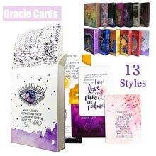 Archangel Oracle Card английская карточная игра для чтения, настольная игра, Earth Magic Oracle Cards, колода Для Таро для личного использования, 6 стилей