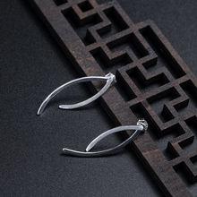 Miqiao 925 стерлингового серебра серьги женский 2020 Новый картины