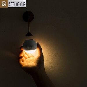 Image 1 - Умный ночник Youpin Sothing Sunny с инфракрасным датчиком, индукционный съемный Ночной светильник с USB зарядкой для дома