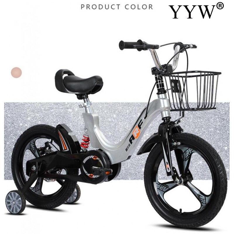 Liga de Magnésio Bicicleta ao ar Anos de Idade Bicicleta com Amortecedor Crianças Bicicleta 18 Polegada Criança Livre 3-12 Equitação 14 – 16