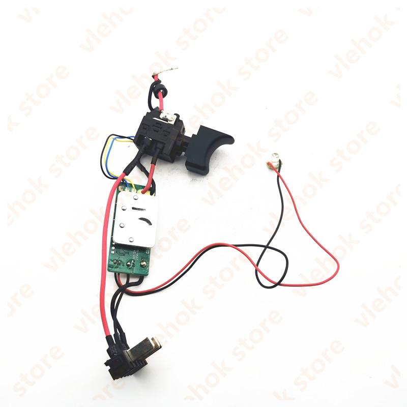 Interruptor para Worx Acessórios para Ferramentas Wu390.9 50027499 Maquinaria Elétricas Parte Wu390 Wx390 Wx390.1 Wx390.9 Wx390.31