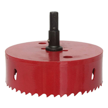 Red Hole Saw Drill Bit cutter metal Twist Drill Bits M42 HSS steel Drilling Kit Opener Carpentry Tools Holesaw for Wood Steel цены