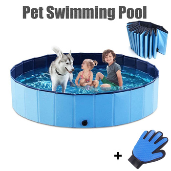 Dog Swimming Pool Foldable Pet Pool Bath Swimming Tub Bathtub Pet Collapsible Bathing Pool for Dogs Cats Kids Drop Shipping