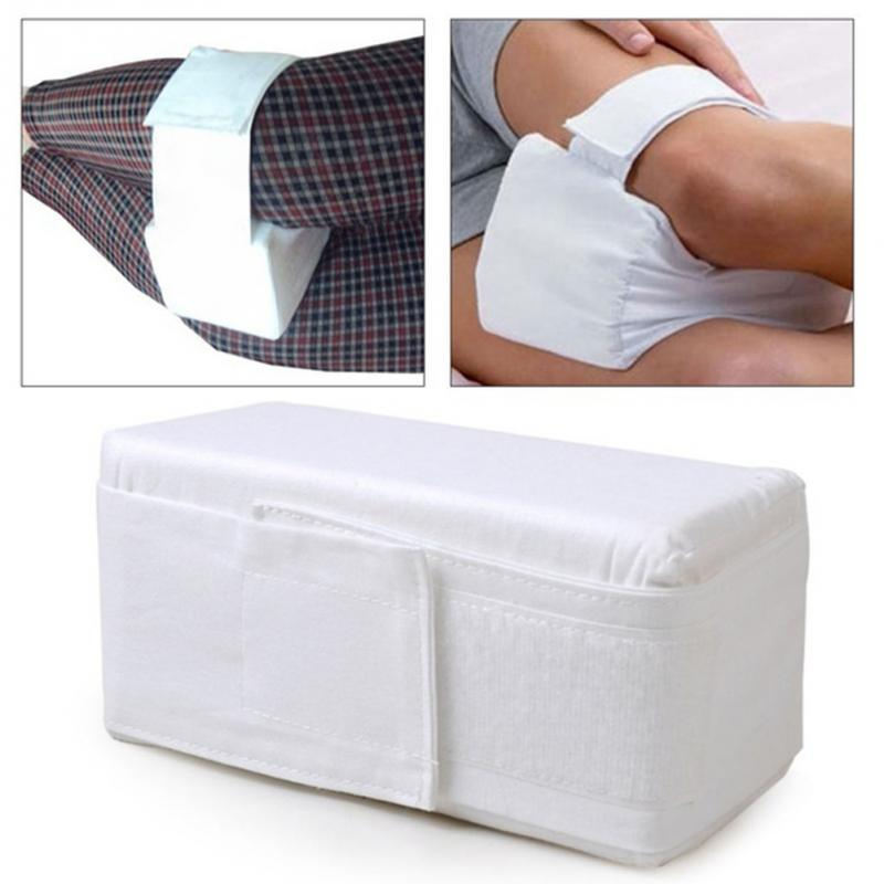 High Quality Knee Support Ease Pillow Cushion Comforts Bed Sleeping Separate Back Leg Pain Support 20 X 11 X 11cm