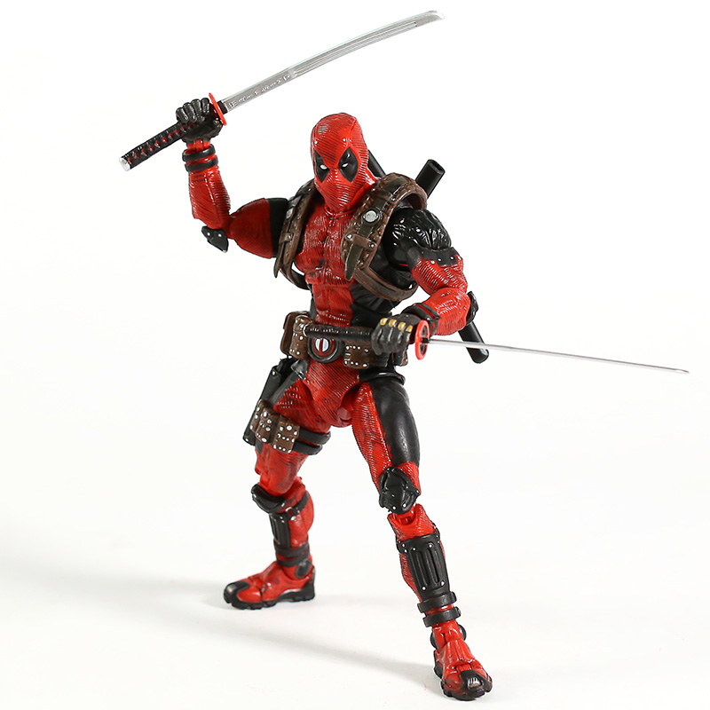 Image 2 - NECA Deadpool 1/10 Scale Ultimate Action Figure Collector Marvel Super Hero Model ToyAction & Toy Figures   -