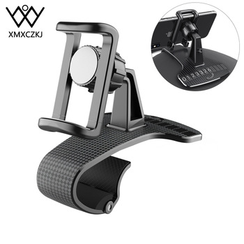 цена на XMXCZKJ Dashboard Car Holder For Phone in Car Air Vent Clip Mount No Magnetic Mobile Phone Holder Stand For iPhone11 Pro Samsung