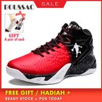 BOUSSAC High end Basketball Shoes Jordan Light Men's Basketball Shoes Tights Waterproof Basketball Shoes For Outdoor Sports