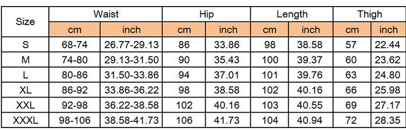 Details of Men's Tactical Pants Casual Lightweight Style C