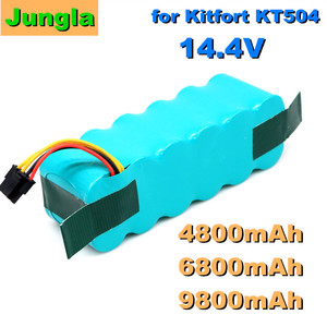 2020 bateria para kitfort kt504 haier t322 t320 panda x500 x580 x600 ecovacs espelho cr120 dibea aspirador de pó robótico 4800mah