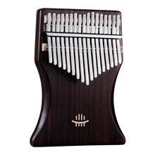 Thumb-Piano Kalimba Musical-Instruments 17key Keyboard The Chamfer Rounded Corner-Design