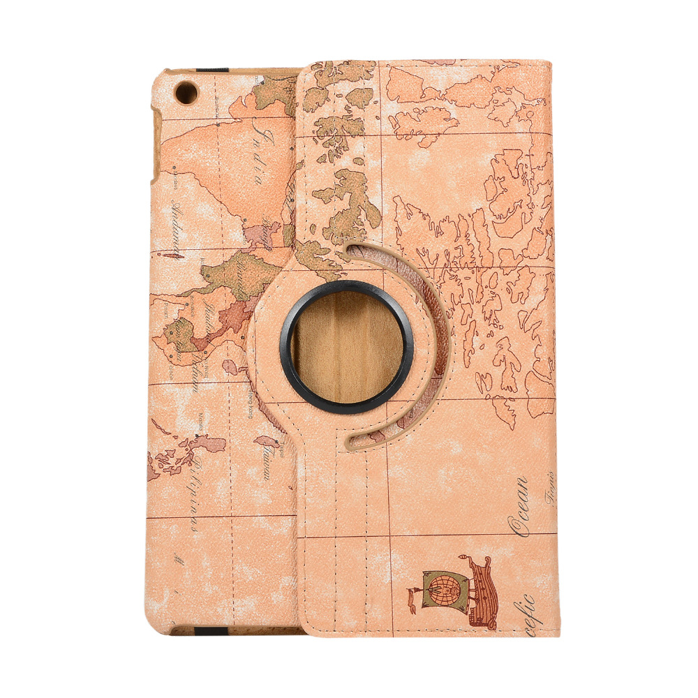 Wake iPad 360-Degree Film--Pen Apple Rotating-Case 7th-Generation Cover for Wake A2197