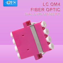 50 шт/лот оптический патч корд мм om4 quad волоконно адаптер