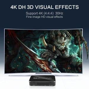 Image 5 - Kebidu Hdmi Splitter Schakelaar 2.0 4K Hdmi 2.0 Switch 4X1 4 In 1 Out Hdmi Switch Audio extractor Met Arc Voor Nintend Hdtv Voor PS4