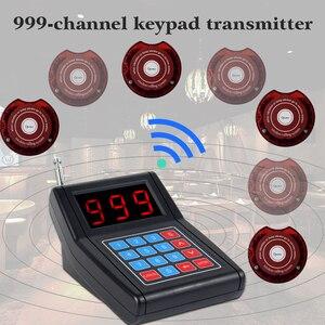 Image 2 - Retekess SU 668 מסעדת הביפר עם 10 הביפר זמזמים מקסימום 999 ביפרים עבור מזון משאית מרפאת בית חולים החלפה אלחוטית מערכת