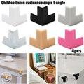 4 шт Мягкий силиконовый детский безопасный Угловой протектор стол защитная накладка на угол стола Edge антиколлизия защита для детей