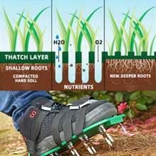 Сандалии для газона регулируемые босоножки с 4 ремешками быстросъемные
