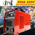 300A мини IGBT инверторный Сварочный аппарат MMA ARC-300 дуговые сварочные аппараты 220 В со светодиодный дисплеем