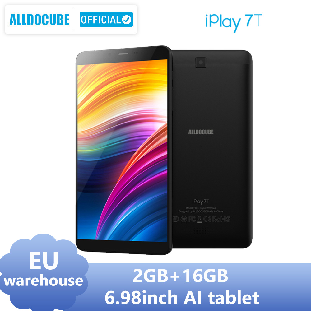 Alldocube iPlay 7T 6.98 inch 4G LTE Phone Tablet PC Android 9.0 Unisoc SC9832E 2GB Ram 16GB Rom 720*1280 IPS AI Tablets Type-C