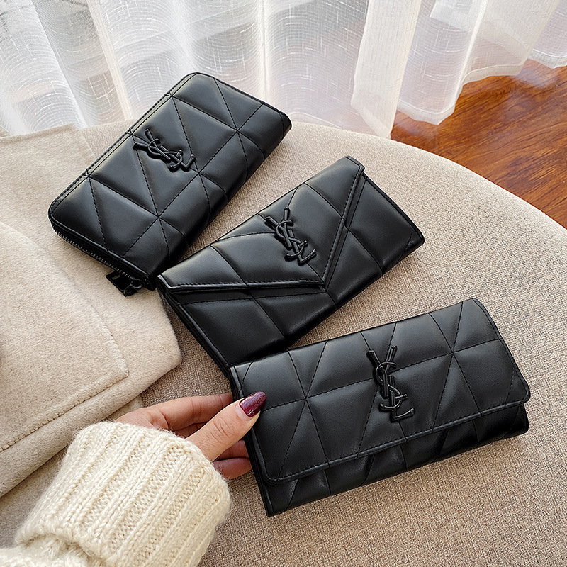 Wallet Women's Long 2019 New Fashion Large Capacity Multifunctional Korean Wallet Women's Clutch Bag Womens Wallets