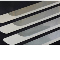 Lsrtw2017 Stainless Steel Car Door Sill Threshold Trims for Peugeot 3008 5008 301 308 408 2008