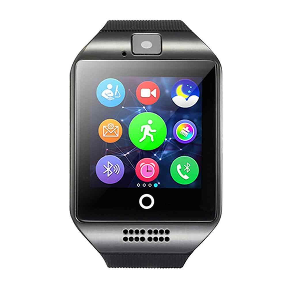 Smart Watches 2019 Q18 Bluetooth Smart Watch GSM Camera TF Card Phone Wrist Watch for Android Dropship SIM card