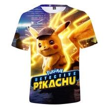 Pikachu Pokemon go Top 3d Print Tshirt Kids Summer Clothes Boys T Shirts Girls Streetwear t shirt girls toddler boy shirts