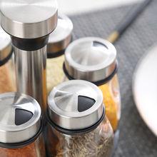 7 кусочная Бутылочки для приправ и горшок поворота основы Приправа