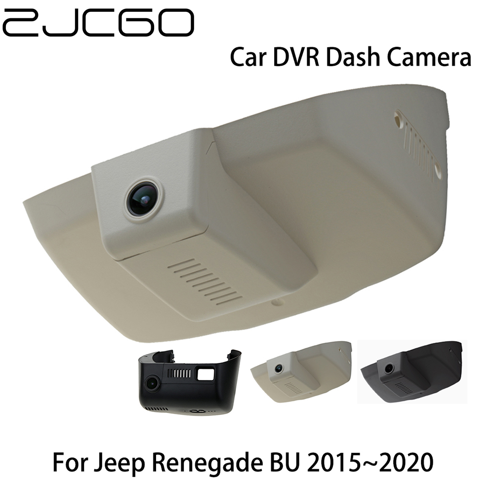 Car DVR Registrator Dash Cam Camera Wifi Digital Video Recorder for Jeep Renegade BU 2015 2016 2017 2018 2019 2020 image