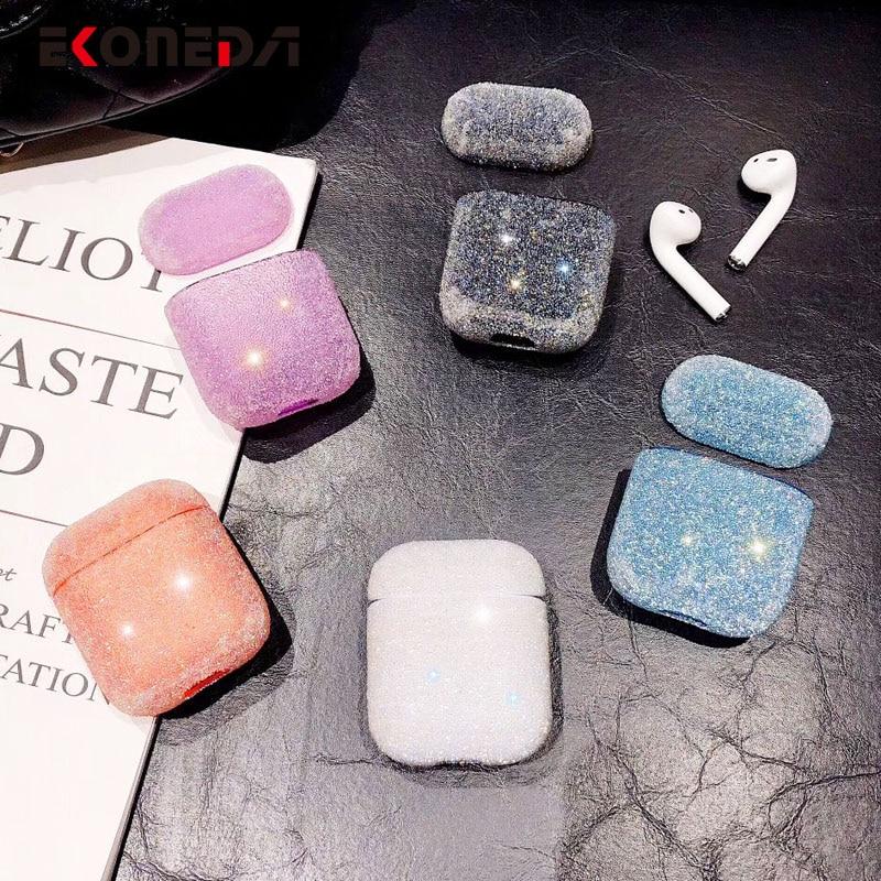 EKONEDA Bling kuti diamantesh luksoze për kasetë Airpods ngjyra - Audio dhe video portative - Foto 2