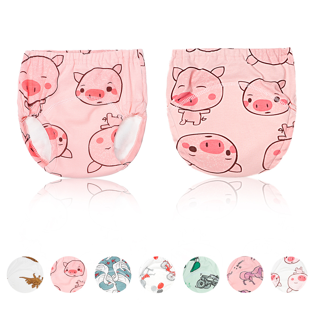 Baby Diapers Newborn Baby Cloth Diapers Happy Flute Infant Baby Nappies Toddler Baby Traning Panties