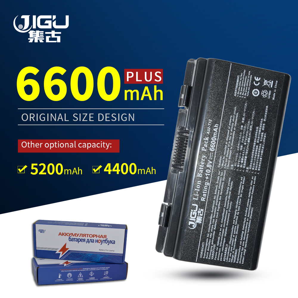 JIGU 6Cells Laptop Battery For Asus A32-X51 A32-T12 90-NQK1B1000Y X58 T12 T12C X51H X51C X51R X58C X58L X51L