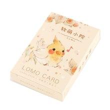 L32-бумажные поздравительные открытки Happy animal(1 упаковка = 28 штук
