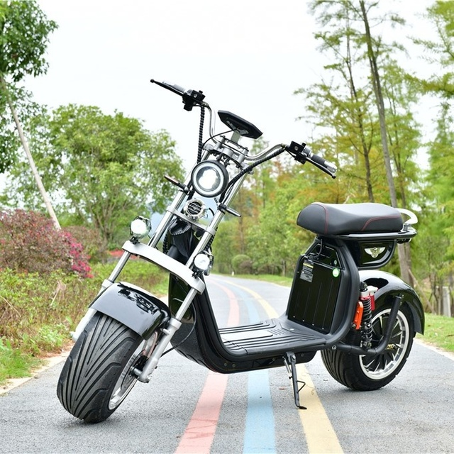 2000W 20AH Two Wheels Cost-Effective Unique Design Best Quality Popular Citycoco Electric Scooter  Electric Motorcycle 4