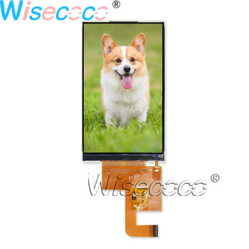 Wisecoco 4inch 480*800 LCD screen 550nits IPS MIPI 25 pins FPC display for Handheld & PDA