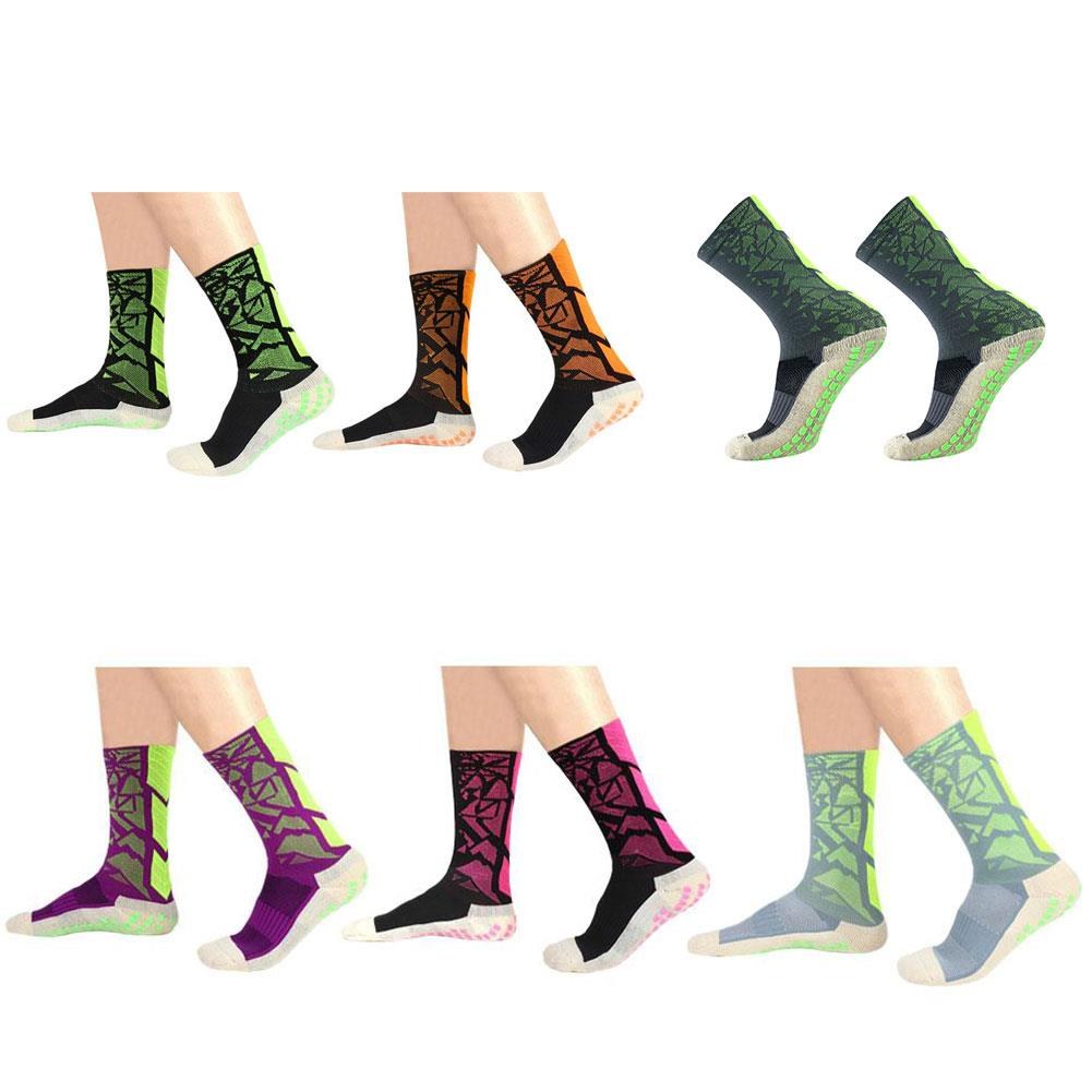 Socks Mid-Calf Soccer Anti Slip Pure Cotton Nylon Equipment Fitness 2018 Sports