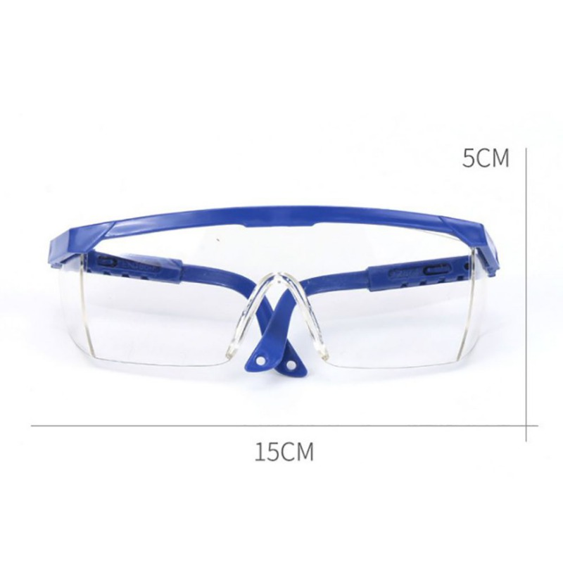 Protective Glasses Work Safety Glasses Anti-Fog Windproof Goggles Adjustable Bicycle Cycling Goggles Outdoor Sports Eyewear