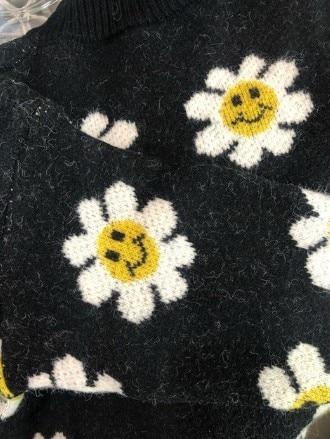 2020 Autumn New Arrival Girls Fashion Floral Sweaters Kids Korean Design Cardigans  Girl Cardigan 4