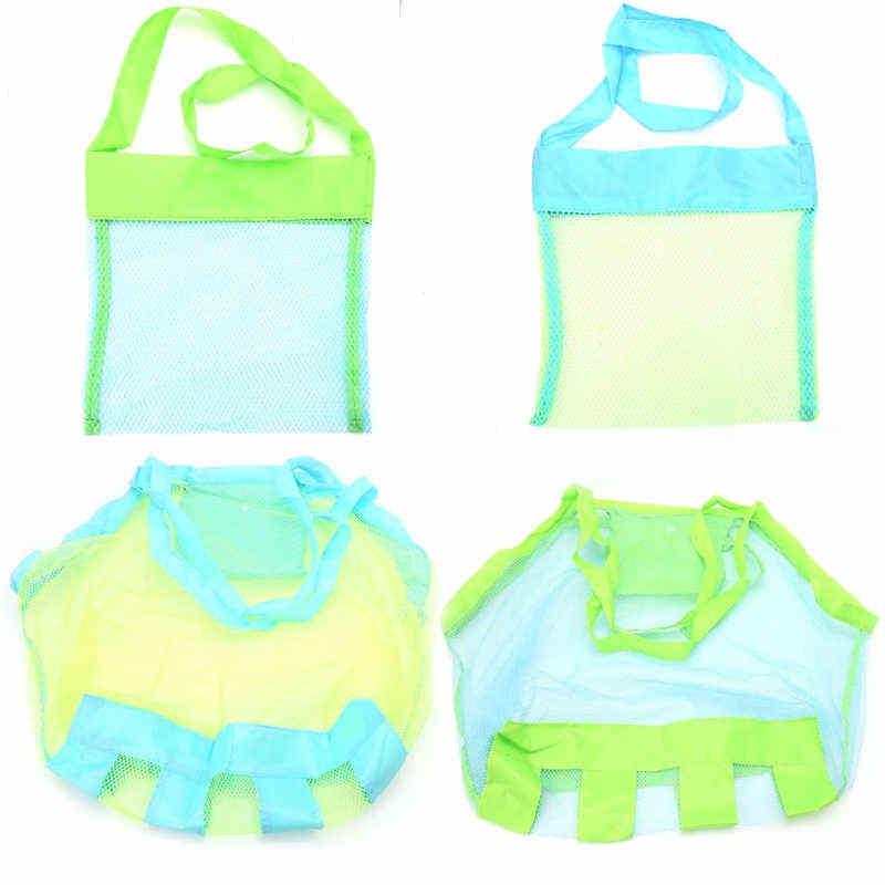 Children Kids Sand-away Carrying Bag Beach Toys Swimming Pool Mesh Bag Tote Bags