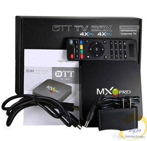 Image 5 - MX Pro 4 4K テレビボックス Amlogic S905W クアッドコア 1 グラム 8 グラムまたは 2 グラム 16 グラムアンドロイド 7.1 超 4 18K ストリーミング IPTV 4 18K ボックススマートテレビメディアプレーヤー再生