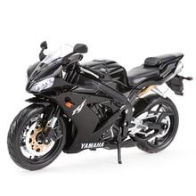 Maisto 1:12 Yamaha YZF-R1 Diecast Alloy Motorcycle Model Toy стоимость